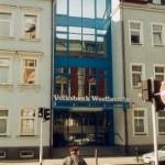 Bankgebäude Sonnenschutzfolien