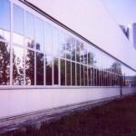 Industriegebäude Sonnenschutzfolien für Industriebereiche SR 80 ASR