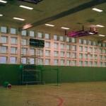 Sporthalle Blendschutzfolie WM 30